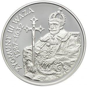 10 złotych 1998, Zygmunt III Waza, półpostać