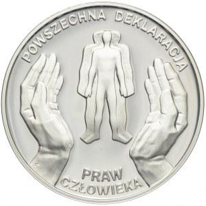 10 złotych 1998, Deklaracja Praw Człowieka