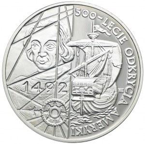 200000 złotych 1992, 500-lecie Odkrycia Ameryki