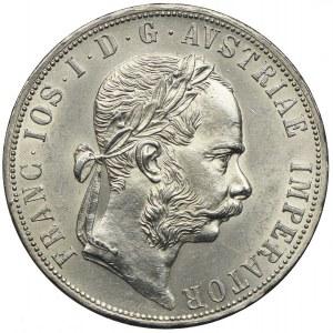 Austria, Franciszek Józef I, 2 floreny 1875, Wiedeń
