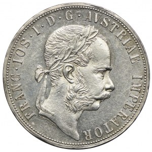 Austria, Franciszek Józef I, 2 floreny 1886, Wiedeń