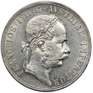 Austria, Franciszek Józef I, 2 floreny 1887, Wiedeń
