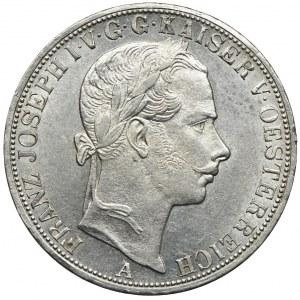 Austria, Franciszek Józef I, talar 1858 A, Wiedeń