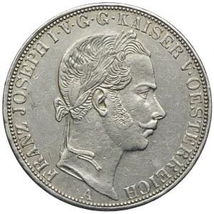 Austria, Franciszek Józef I, talar 1861 A, Wiedeń