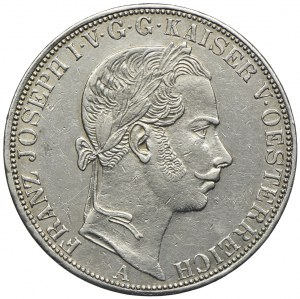 Austria, Franciszek Józef I, 1 talar 1861 A, Wiedeń