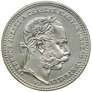 Węgry, Franciszek Józef I, 20 krajcarów 1868 KB, Kremnica, Artex