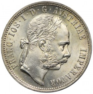 Austria, Franciszek Józef I, 1 floren 1875, Wiedeń