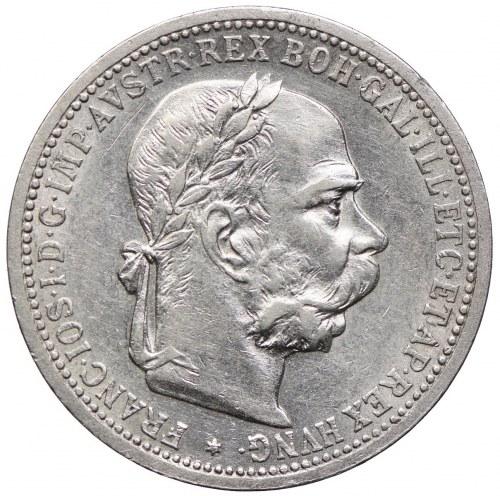 Austria, Franciszek Józef I, 1 korona 1897, Wiedeń
