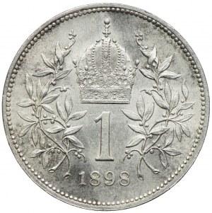 Austria, Franciszek Józef I, 1 korona 1898