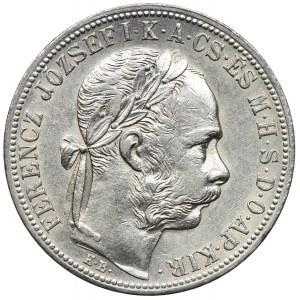 Węgry, Franciszek Józef I, 1 forint 1882 KB, Kremnica
