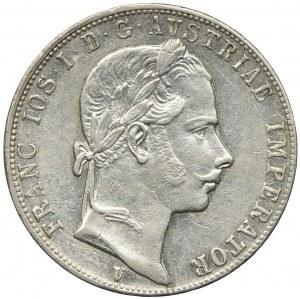 Austria, Franciszek Józef I, 1 floren 1858 V, Wenecja