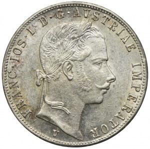 Austria, Franciszek Józef I, 1 floren 1862 V, Wenecja
