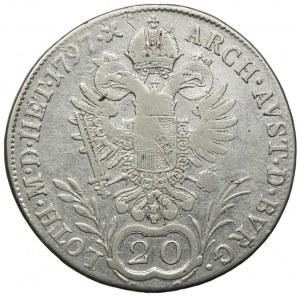 Austria, Franciszek II, 20 krajcarów 1797 C, Praga