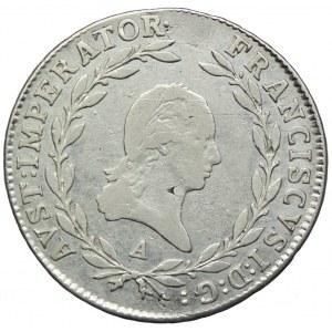 Austria, Franciszek I, 20 krajcarów 1811 A, Wiedeń
