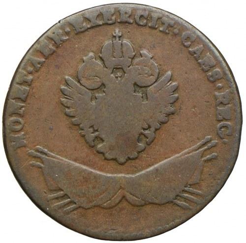 Polska - Zabór Austriacki, Franciszek II, 1 grosz 1794, Wiedeń