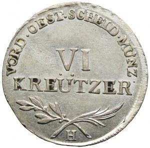 Austria, Franciszek II, 6 krajcarów 1797, Günzburg