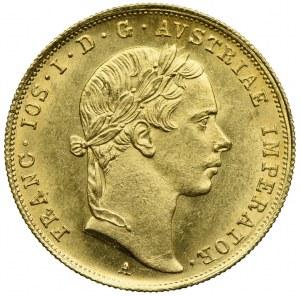 Austria, Franciszek Józef I, dukat 1854, Wiedeń