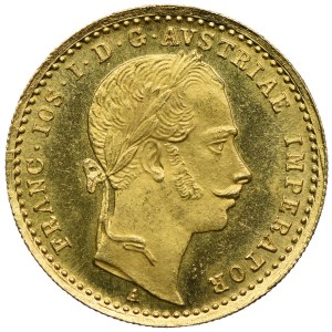 Austria, Franciszek Józef I, dukat 1864, Wiedeń