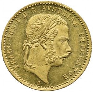 Austria, Franciszek Józef I, 1 dukat 1867, Wiedeń