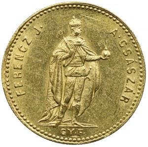 Węgry, Franciszek Józef I, dukat 1869, Karlsburg
