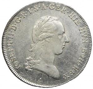 Niderlandy Austriackie, Józef II, talar 1790, Wiedeń