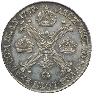 Niderlandy Austriackie, Józef II, talar 1789, Kremnica
