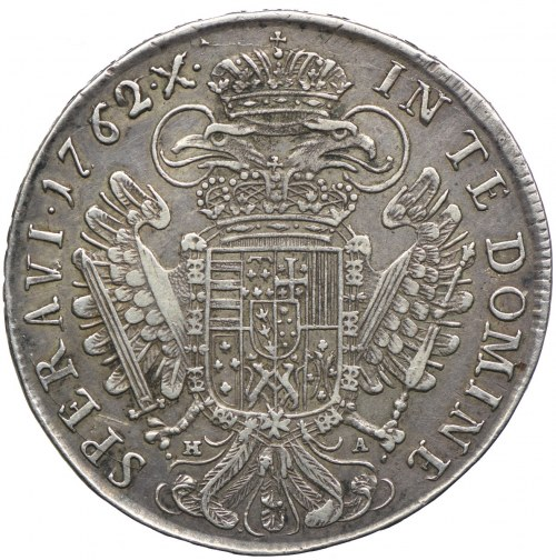 Austria, Franciszek I, talar 1762, Hall