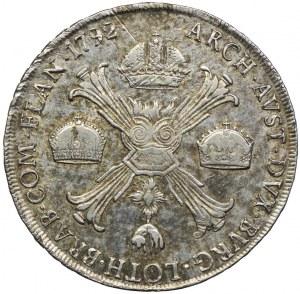 Niderlandy Austriackie, Franciszek II, talar 1792, Mediolan