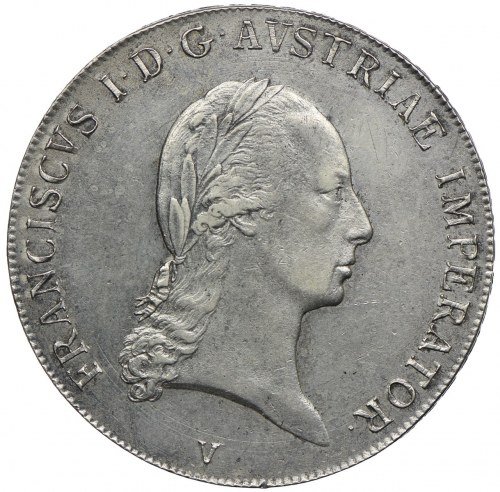 Austria, Franciszek II, talar 1824, Wenecja
