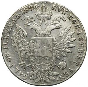 Austria, Franciszek II, talar 1826, Nagybanya