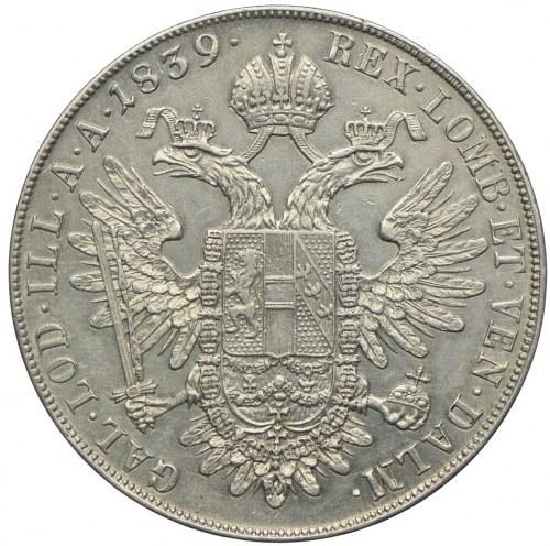 Austria, Ferdynand I, talar 1839, Wiedeń