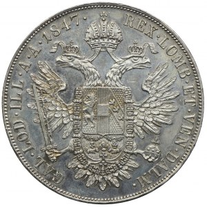 Austria, Ferdynand I, talar 1847, Wiedeń