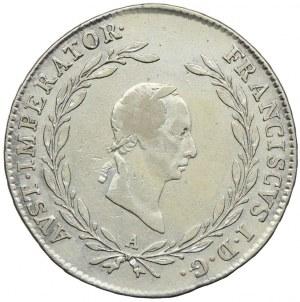 Austria, Franciszek II, 20 krajcarów 1826, Wiedeń