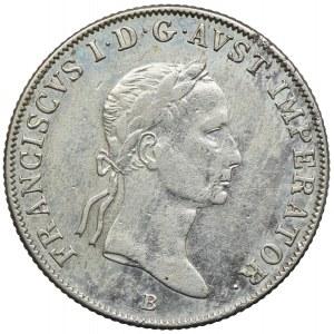 Austria, Franciszek II, 20 krajcarów 1834, Kremnica