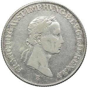 Węgry, Franciszek II, 20 krajcarów 1834, Kremnica