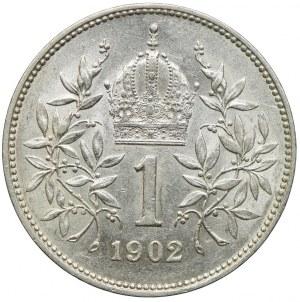 Austria, Franciszek Józef I, 1 korona 1902