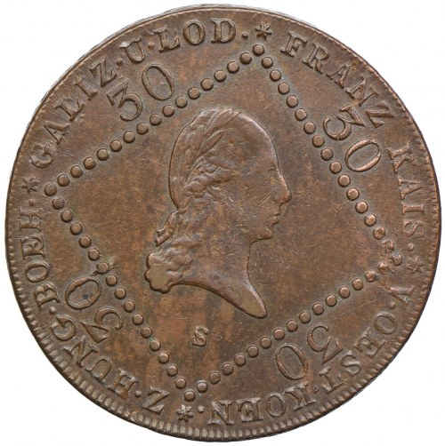 Austria, Franciszek II, 15 krajcarów 1807, Smolnik