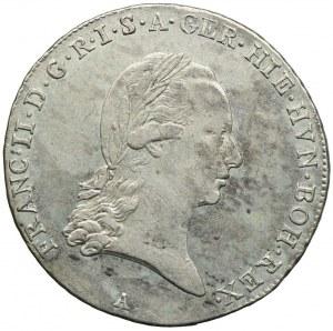 Niderlandy Austriackie, Franciszek II, 1/4 talara 1794, Wiedeń