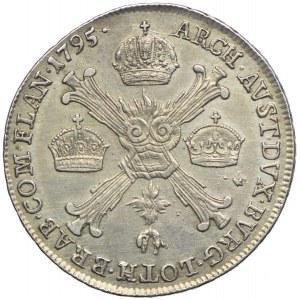 Niderlandy Austriackie, Franciszek II, 1/4 talara 1795, Kremnica