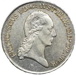 Austria, Franciszek II, 1/2 talara 1815, Wiedeń