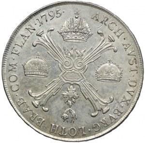 Austria, Franciszek II, talar 1795, Wiedeń
