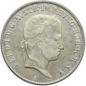 Austria, Ferdynand I, 20 krajcarów 1841, Wiedeń