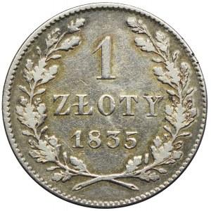 Wolne Miasto Kraków, 1 złoty 1835, Wiedeń