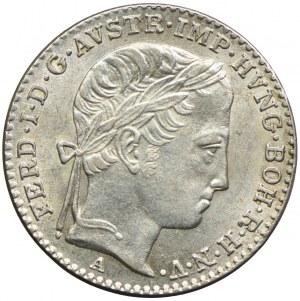 Austria, Ferdynand I, 3 krajcary 1848, Wiedeń