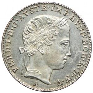 Austria, Ferdynand I, 3 krajcary 1839, Wiedeń