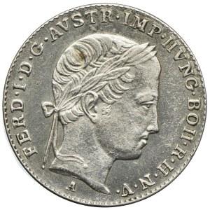 Austria, Ferdynand I, 3 krajcary 1843, Wiedeń
