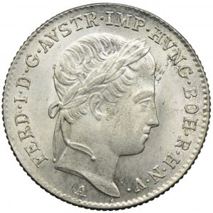 Austria, Ferdynand I, 5 krajcarów 1848, Wiedeń