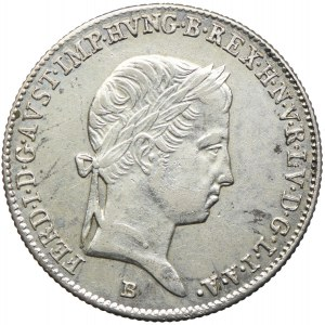 Węgry, Ferdynand I, 10 krajcarów 1846, Kremnica