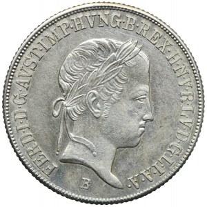 Węgry, Ferdynand I, 20 krajcarów 1845, Kremnica