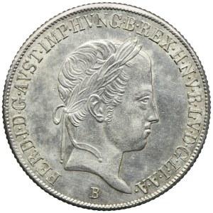 Węgry, Ferdynand I, 20 krajcarów 1847, Kremnica